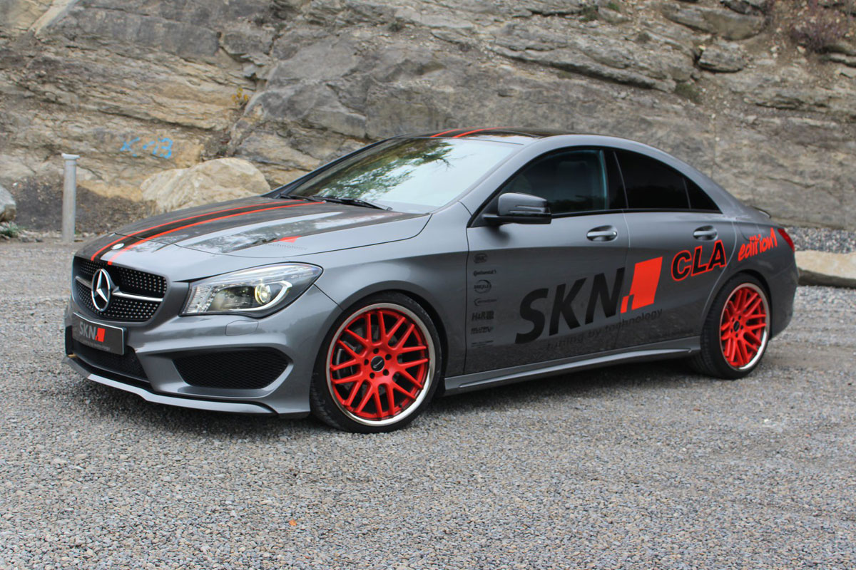 skn tuning wrings 298kw from mercedes benz cla 250. Black Bedroom Furniture Sets. Home Design Ideas