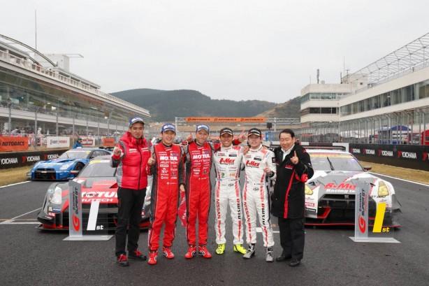Nissan GT-R NISMO GT500 1-2 finish