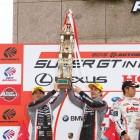 Nissan GT-R NISMO GT500 podium