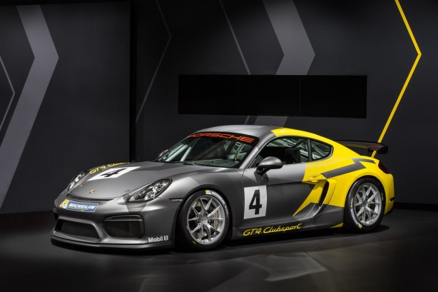 Porsche Cayman GT4 Clubsport - Left 4