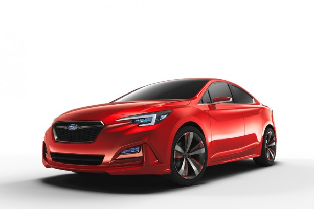 Subaru Impreza Sedan concept front quarter