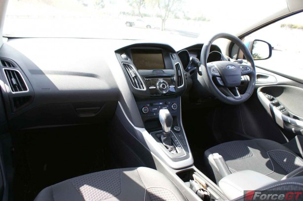 2015 Ford Focus Sport hatch Interior