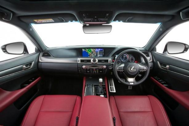 2015 Lexus GS 200t F Sport interior