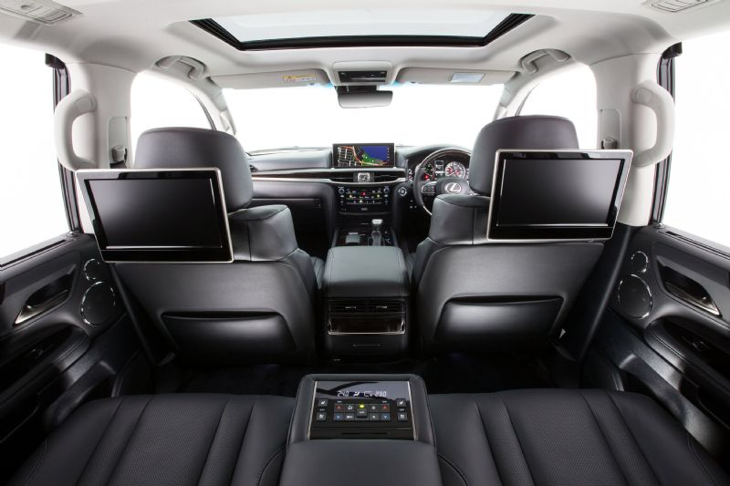 Lexus Introduces Significantly Updated 2015 Lx 570 Flagship