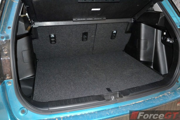 2015 Suzuki Vitara RT-X boot space