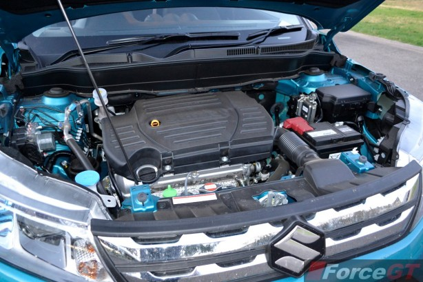 2015 Suzuki Vitara RT-X engine