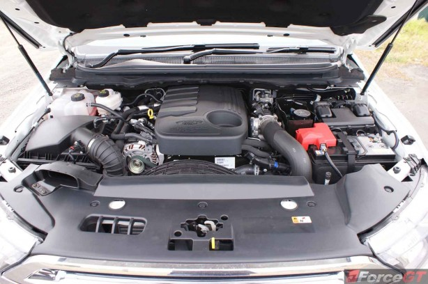 Ford Everest 2015 Engine Duratorq Diesal 5 cylinder TDCI 3.2-litre
