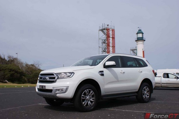 2015 Ford Everest Trend Review Front Left lighthouse queenscliff
