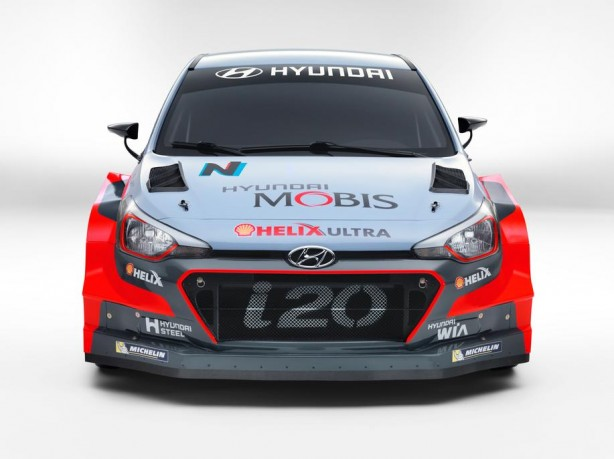 2016 Hyundai i20 WRC front