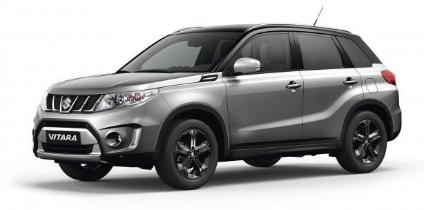 2016 Suzuki Vitara S front quarter
