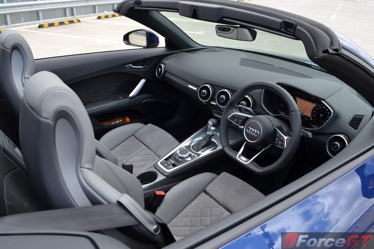 2016 audi tt roadster interior. Black Bedroom Furniture Sets. Home Design Ideas