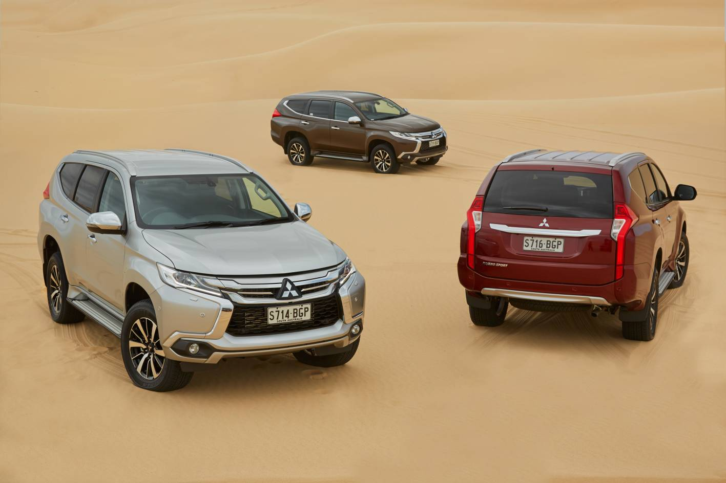 Mitsubishi Cars - News: All-New Pajero Sport launched from ...
