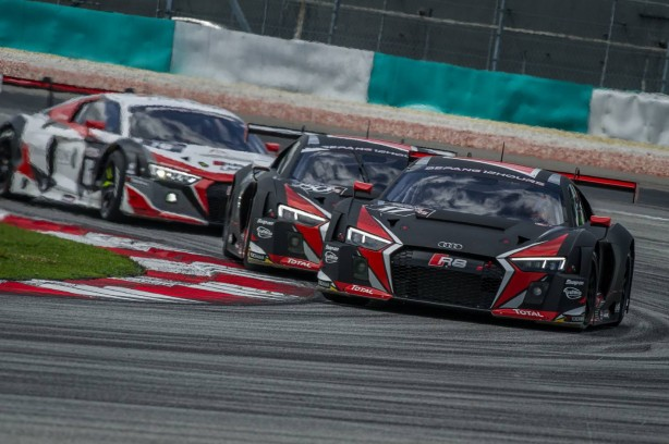 Audi R8 LMS at Sepang