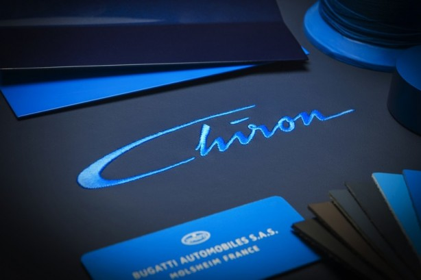 Bugatti Chiron name confirmed