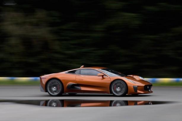 Jaguar C-X75 Bond car side