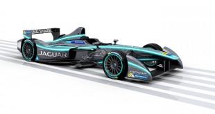 Jaguar-Formula-E-racer-front-quarter