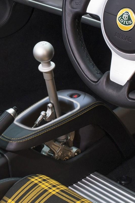 Lotus Exige Sport 350 gearshirt lever