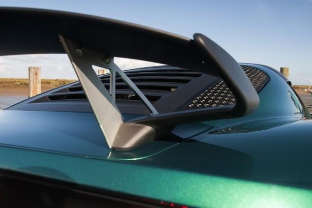 Lotus Exige Sport 350 rear wing