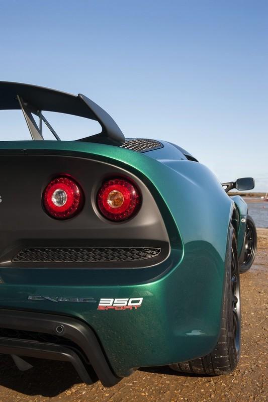 Lotus Exige Sport 350 rear
