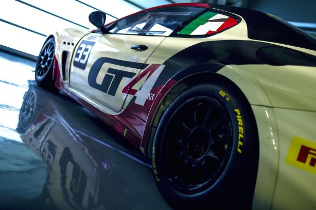 Maserati GranTurismo MC GT4 rear quarter