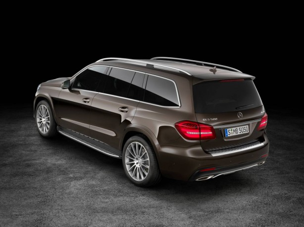 Mercedes-Benz GLS rear quarter