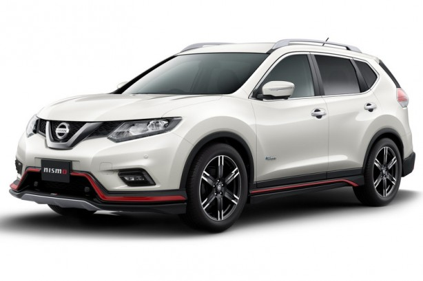 Nissan X-Trail Nismo front quarter