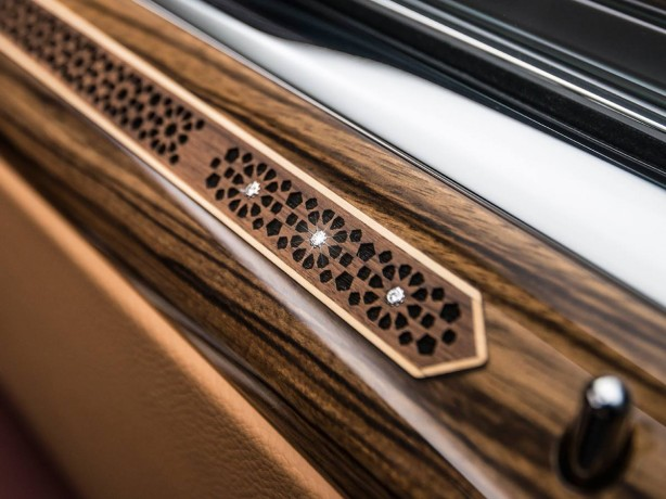 Rolls-Royce Ghost Red Diamond diamond inlay