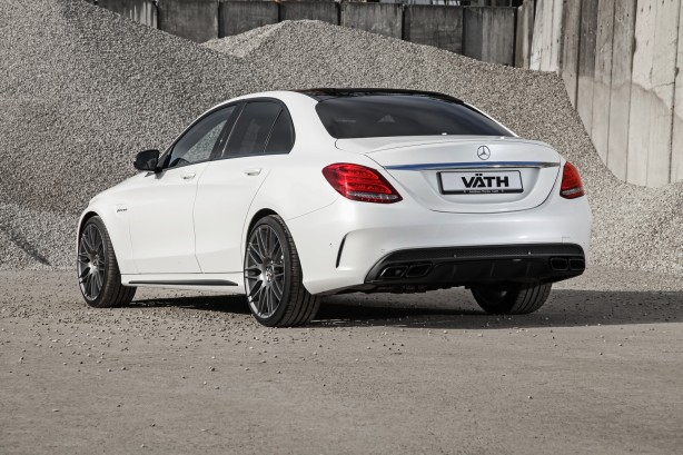 Vath tuned Mercedes-AMG C63 S rear quarter-1