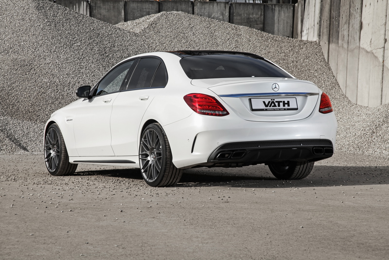 mercedes tuning vath gives mercedes amg c63 s a boost to. Black Bedroom Furniture Sets. Home Design Ideas