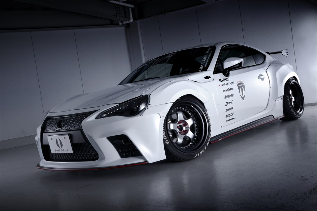 Aimgain Gives Toyota 86 A Visual Treat Forcegt Com