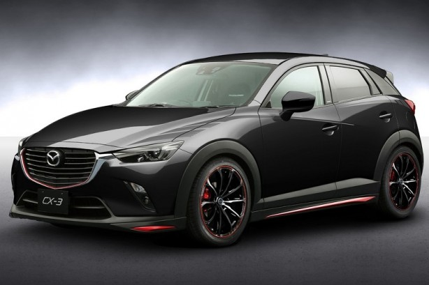 mazda-cx-3-racing-concept front quarter