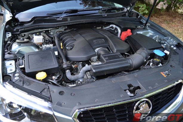 2015 Holden VFII Commodore Sportswagon LS3 V8 engine