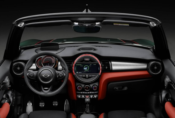 MINI john cooper works convertible interior 2016