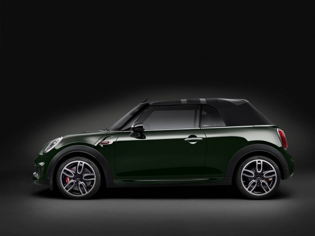 MINI john cooper works convertible-side-view