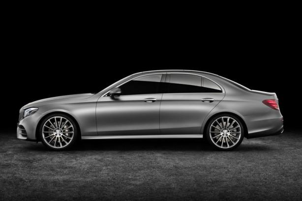 2016 Mercedes-Benz E-Class side