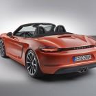 2016_Porsche_718_Boxster_S_rear_three_quarter