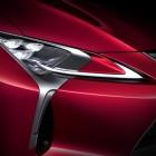 2017 Lexus LC 500 coupe LED headlight