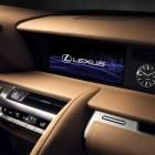 2017 Lexus LC 500 coupe Multimedia screen