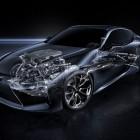 2017 Lexus LC 500 coupe powertrain