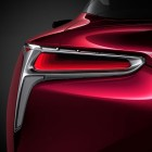 2017 Lexus LC 500 coupe tail light