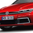 2017 Volkswagen Golf rendering front