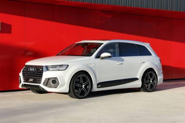 ABT-tuned Audi QS7 front quarter-1
