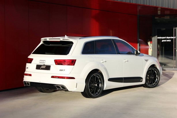 ABT-tuned Audi QS7 rear quarter