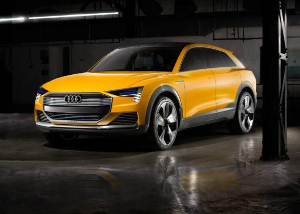 Audi h-tron quattro concept front quarter