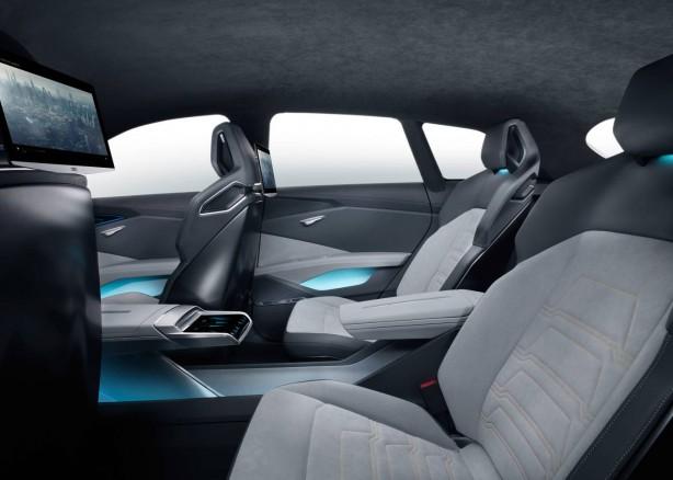 Audi h-tron quattro concept rear seats