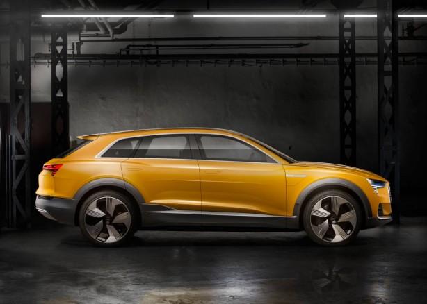 Audi h-tron quattro concept side