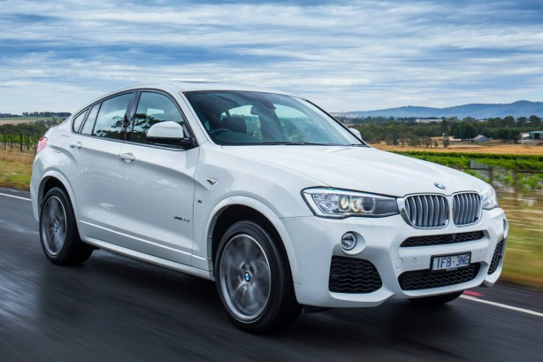 BMW-xdrive35d-x4-new-australia-road