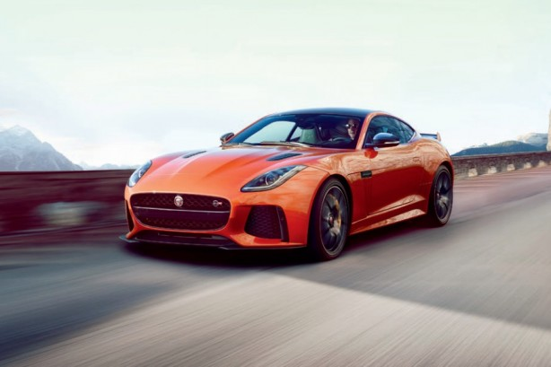 Jaguar-F-Type-SVR-leak-front-quarter