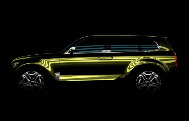 Kia premium SUV concept for Detroit
