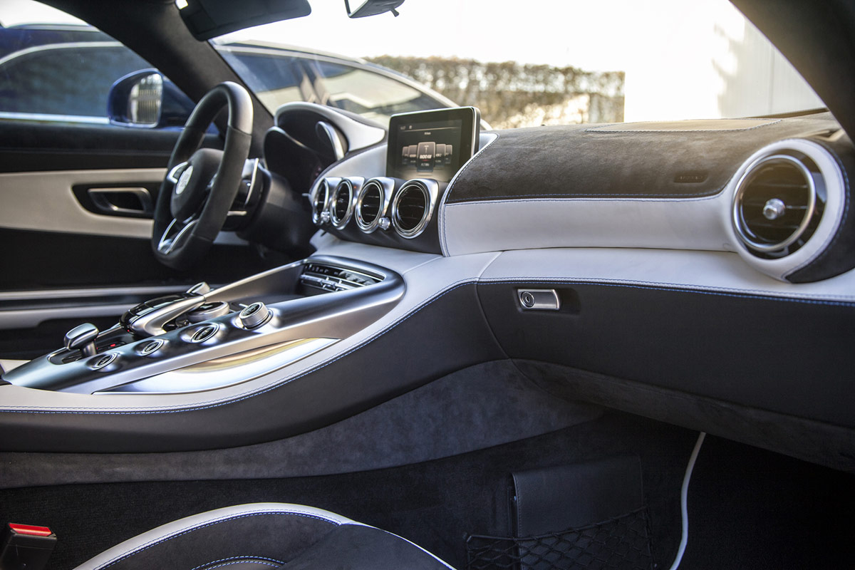 Prior design introduces widebody mercedes amg gt for Mercedes benz upholstery kits